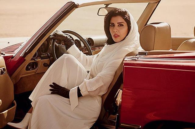 Арабская принцесса украсила обложку Vogue