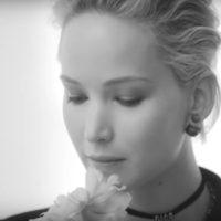 Дженнифер Лоуренс рекламирует новый парфюм от Dior