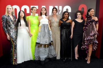 """""""8 подруг Оушена"""": главные героини фильма посетили премьеру в Нью-Йорке"""