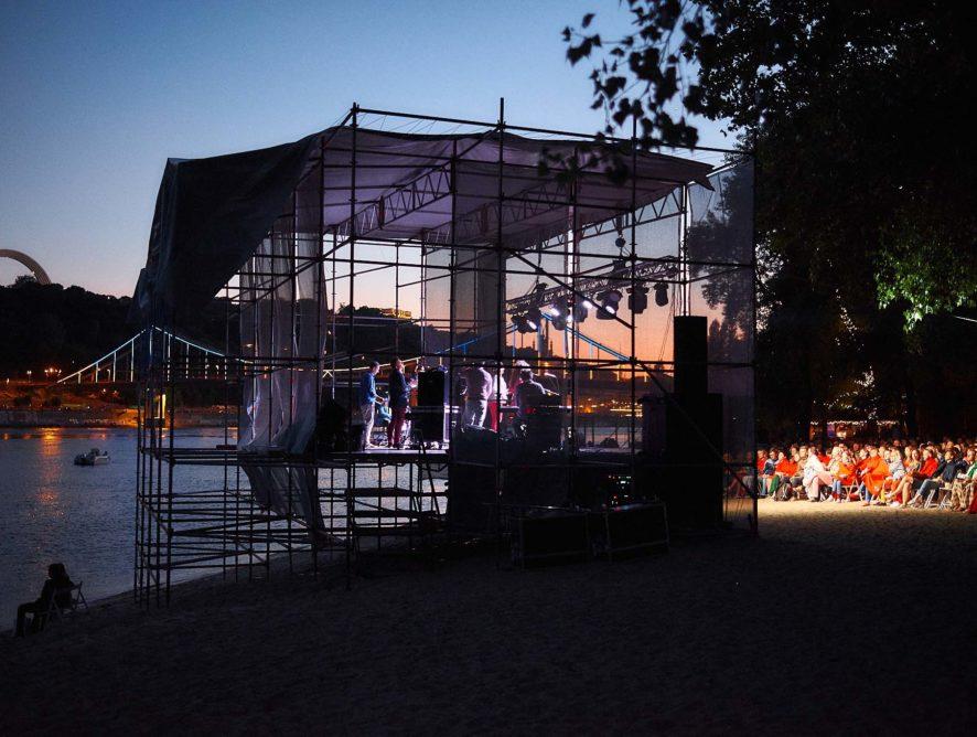 В Киеве открылся сезон летних концертов джаза и классики на невероятно красивых локациях