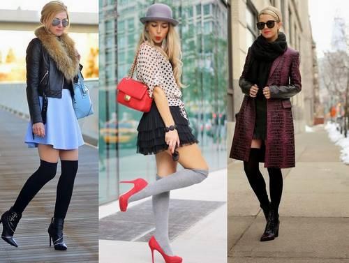 Гольфы - модный тренд 2018: 5 советов, как лучше носить