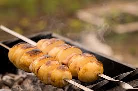 Как приготовить картошку на шампуре