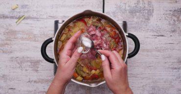 Как приготовить овощной суп-рагу: пошаговый рецепт