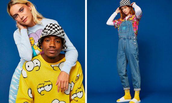 """ASOS представили новую коллекцию одежды, посвященную сериалу """"Симпсоны"""""""