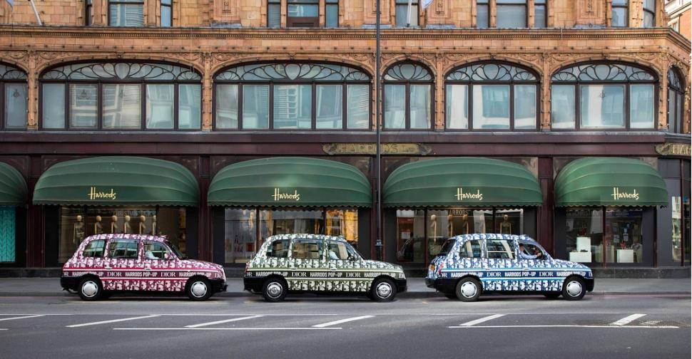 Dior запустили собственное такси