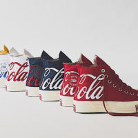 Converse выпустили совместную коллекцию кед с Coca-Cola