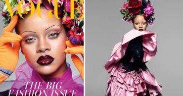 Рианна стала лицом сентябрьского Vogue: опубликованы фото