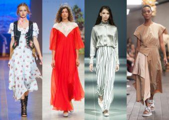 faf66da2b1db Восток vs Запад  тенденции сезона Spring Summer 2019. Сезон Ukrainian  Fashion Week ...