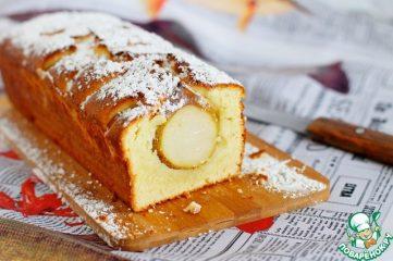 Ароматный кекс с грушами: быстро и вкусно