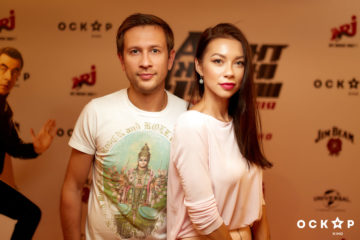 """Логунова и Ступка посетили премьеру фильма """"Агент Джонни Инглиш: Новая миссия"""""""