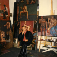 """В галерее """"Карась"""" проходит мемориальная выставка парижского художника Антона Соломухи"""