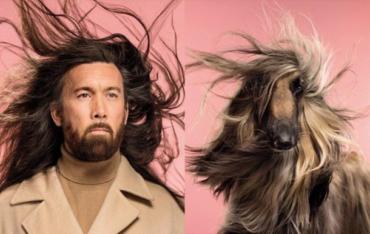 Как две капли: фотограф запечатлел невероятное сходство людей и собак