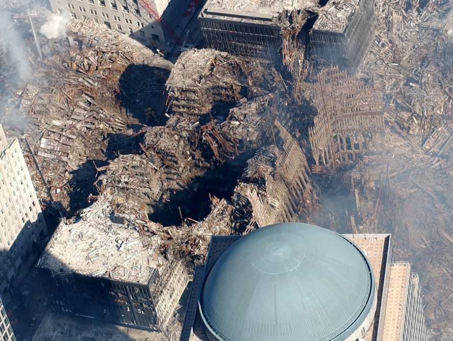 Пользователи Сети почтили память погибших во время терактов 11 сентября