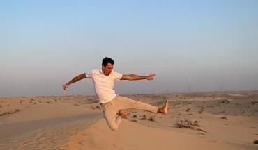 Александр Скичко показал, как отдыхает в Дубаи
