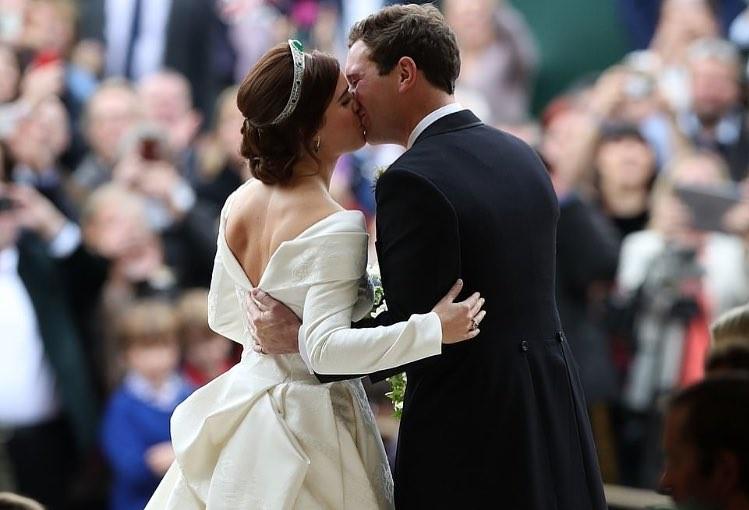Новая королевская свадьба: принцесса Евгения вышла замуж