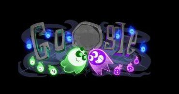 Google выпустил дудл-игрушку на Хэллоуин