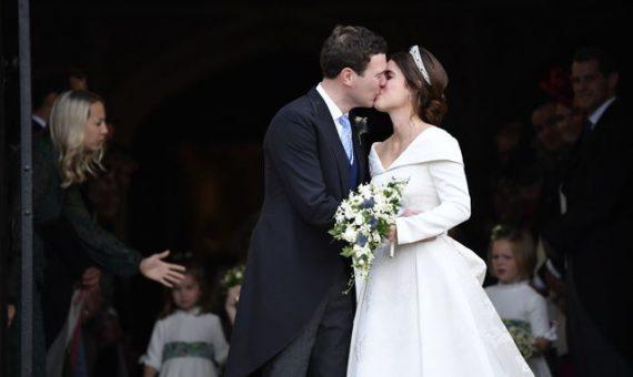 Как выглядит второе свадебное платье принцессы Евгении