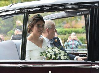 Внучка королевы Елизаветы вышла замуж: свадебный образ принцессы Евгении
