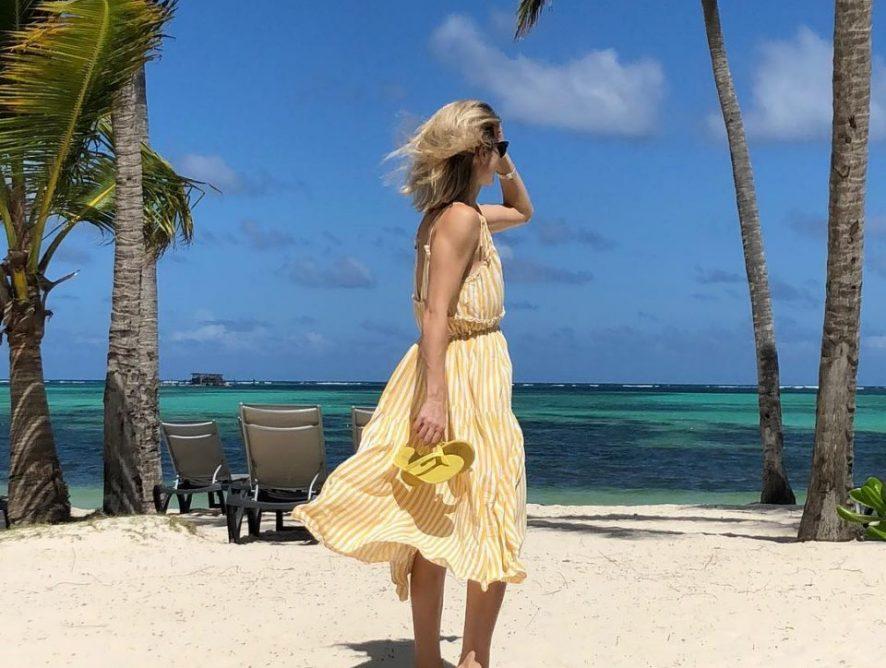Анита Луценко поделилась фото с отдыха в Доминикане