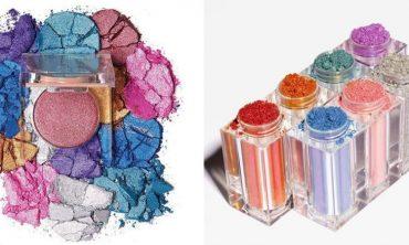 Ким Кардашян выпустила новую мерцающую коллекцию для макияжа