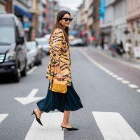 Тигровый – второй самый модный принт осеннего сезона