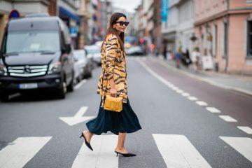 Тигровый - второй самый модный принт осеннего сезона