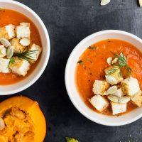 Атмосфера осени: готовим тыквенный суп-пюре