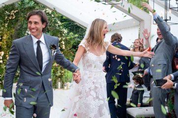 Гвинет Пэлтроу поделилась стильными снимками со своей свадьбы