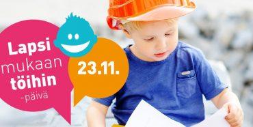 В Финляндии детей пригласили в офисы вместе с родителями