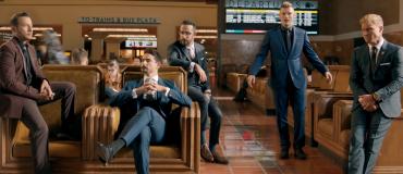 Впятером на вокзале: Backstreet Boys презентовали новый клип