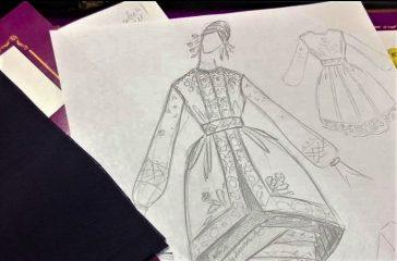 Королевский шелк и колоритная вышивка: украинские наряды покоряют мировые подиумы