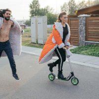 Украинский бренд пошил шубы из конопли