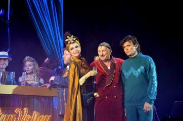 В Киеве покажут спектакль с Сумской и Борисюком