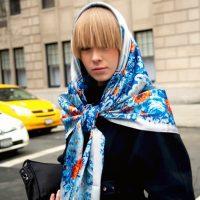 Как носить платок в волосах: 5 стильных идей из Instagram