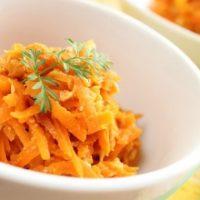 Тыквенно-морковный салат