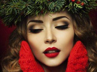 Новогодний макияж 2019: 5 способов нанесения яркой подводки для глаз