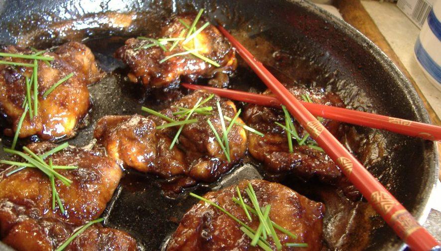 Простой рецепт пикантной курицы по-тайски