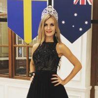 Украинку назвали самой красивой девушкой Швеции