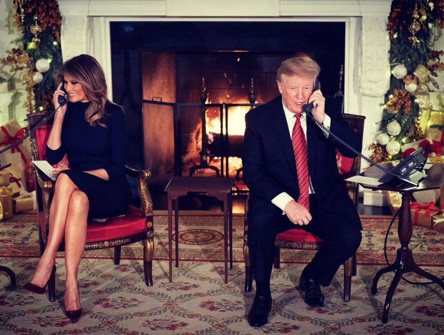 Дональд Трамп чуть не заставил ребенка усомниться в Санта-Клаусе