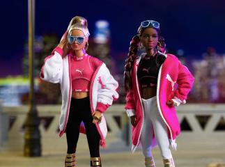 Куклы и кроссовки: Mattel и Puma представили совместную коллаборацию