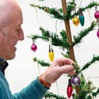 Рождественская история: британский пенсионер выставил на аукцион раритетную елку