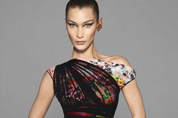 Versace показал снимки новой рекламной компании с Шейк, Харлоу и Хадид