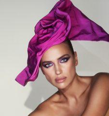Ирина Шейк с ярким макияжем стала лицом Marc Jacobs