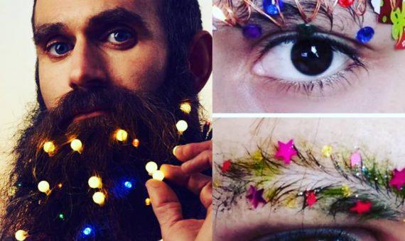 Новогодние брови: новый бьюти-тренд в Instagram