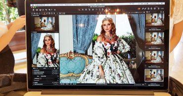 Оксана Марченко снялась для Dolce & Gabbana