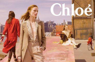 Ретро-принты и стиль хиппи: Chloe показали кампейн сезона весна-лето 2019