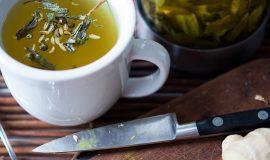 Диетолог поделилась рецептом чая, для разогрева тела перед тренировкой