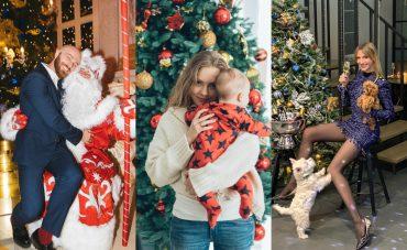 2019: как знаменитости Новый год встречали