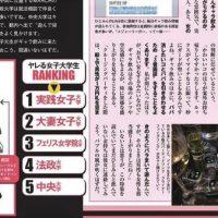"""Японский мужской журнал извинился за """"рейтинг доступности"""" студенток"""