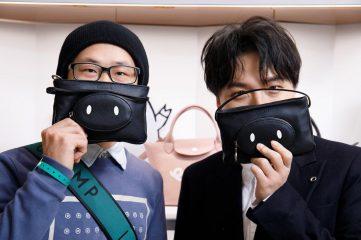 В честь китайского Нового года: Longchamp создали коллекцию совместно с Mr. Bags